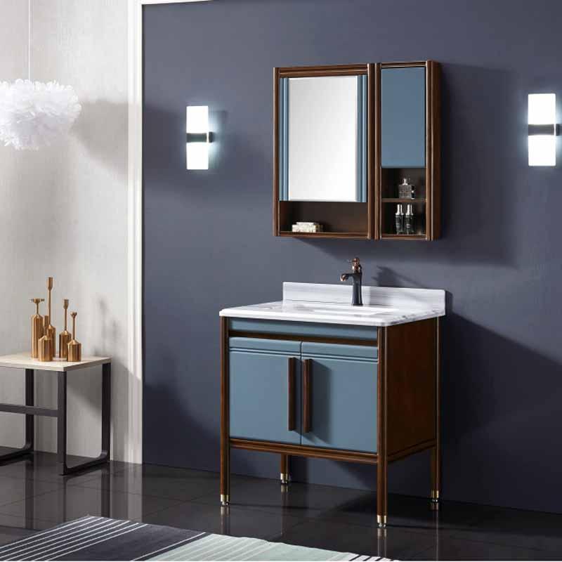 厂家念龙现代实木浴室柜全烤漆6004/6005/6006系列