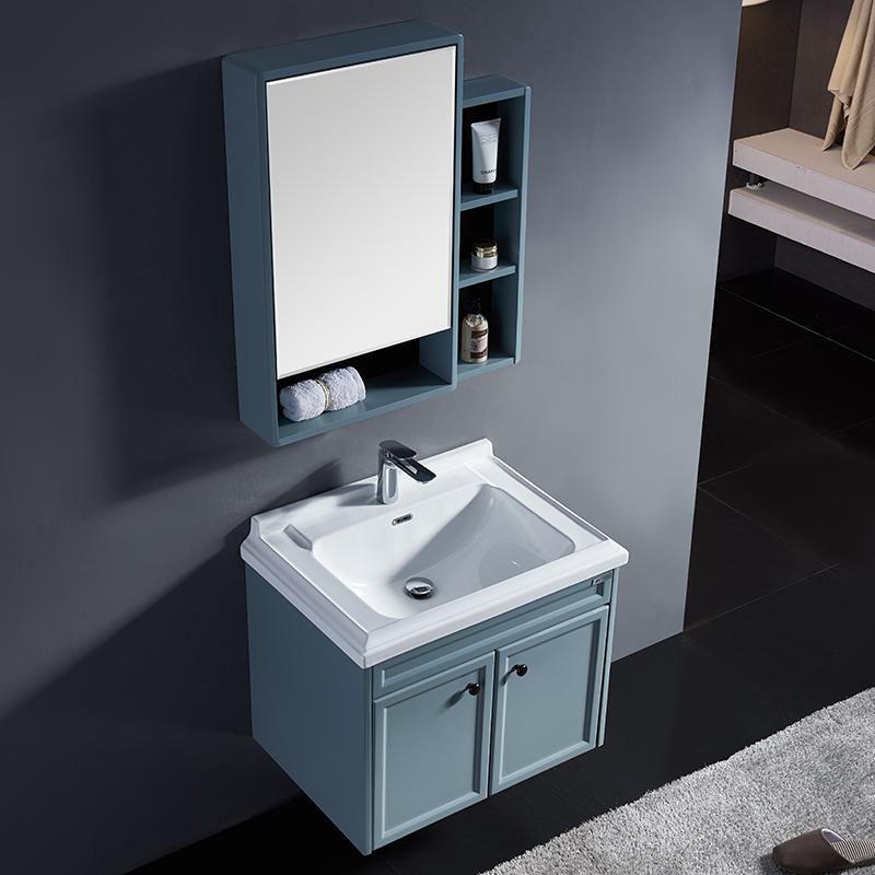 厂家九沐工馆PVC浴室柜防水防潮809吊柜系列