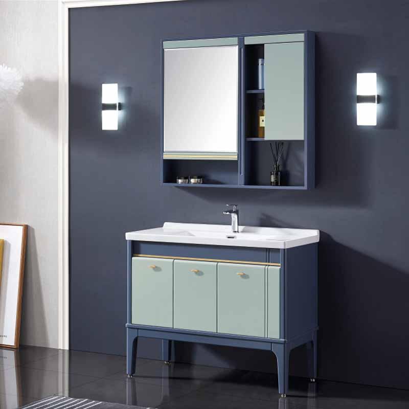 厂家念龙现代实木浴室柜全烤漆6022-100