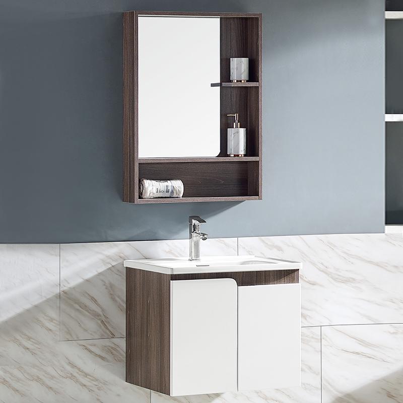 厂家沃尔泊现代免漆浴室柜门板烤漆2080/81吊柜