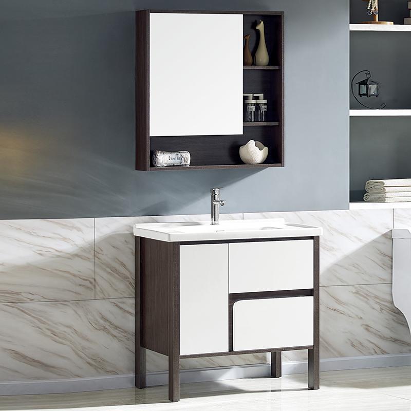 厂家美伽星现代免漆浴室柜门板烤漆2094/5/6落地柜系列