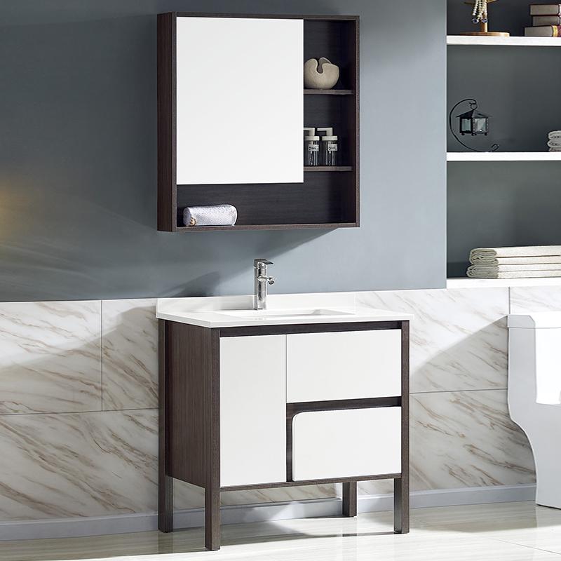 厂家美伽星现代免漆浴室柜门板烤漆2094A/5A/6A落地柜系列