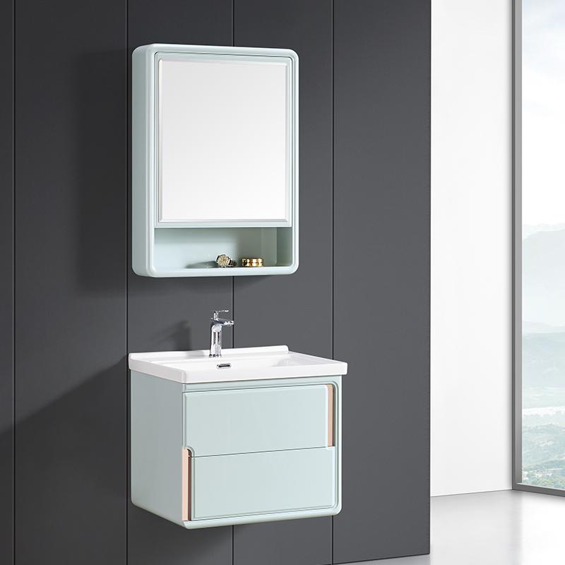 厂家科菲现代PVC浴室柜/洗手盆落地1932系列