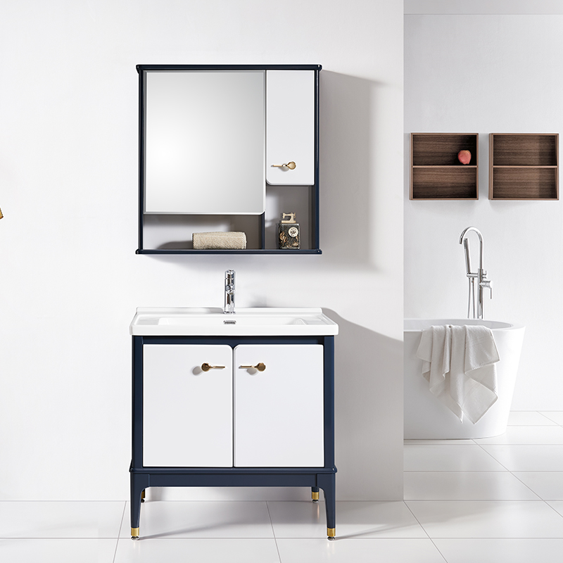 厂家科菲现代PVC浴室柜/洗手盆落地1935系列