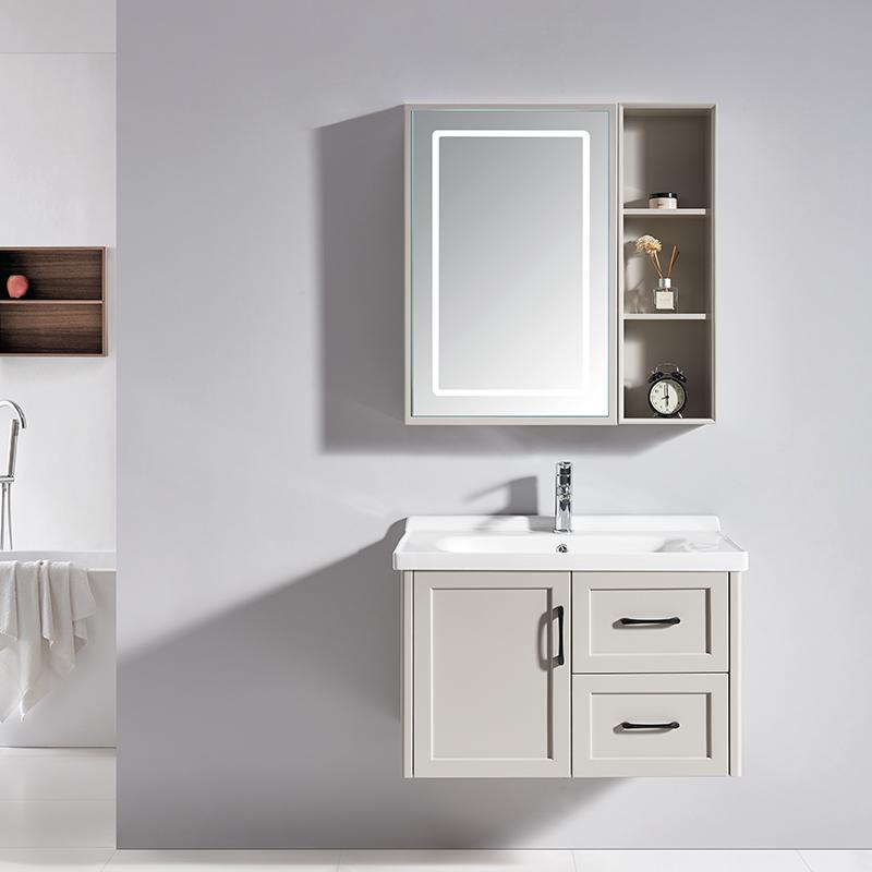 厂家科菲现代PVC浴室柜/洗手盆/面盆落地1940系列