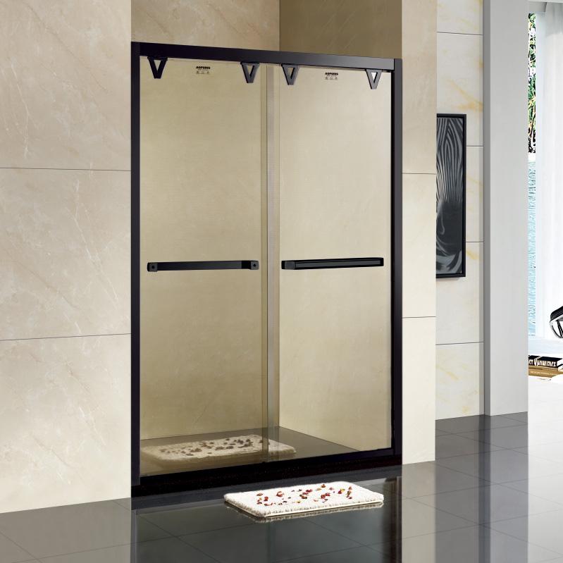 厂家美霖家不锈钢玻璃不含石基防爆膜隔断/淋浴房A110系列