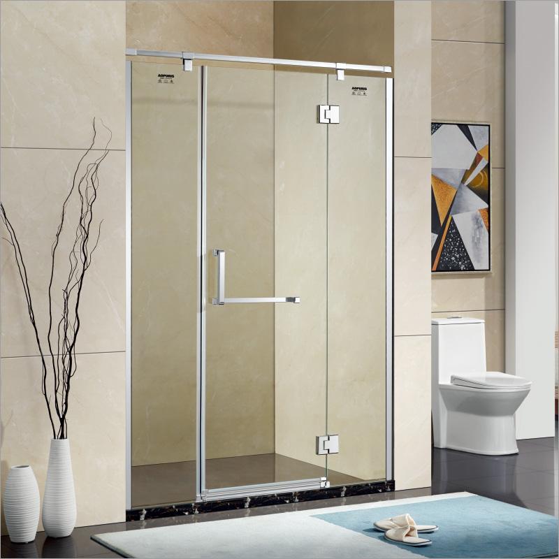 厂家美霖家不锈钢玻璃不含石基防爆膜隔断/淋浴房A133