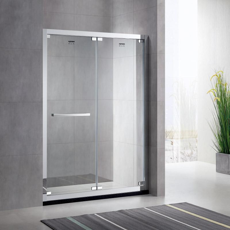 厂家美霖家不锈钢玻璃不含石基防爆膜隔断/淋浴房A155