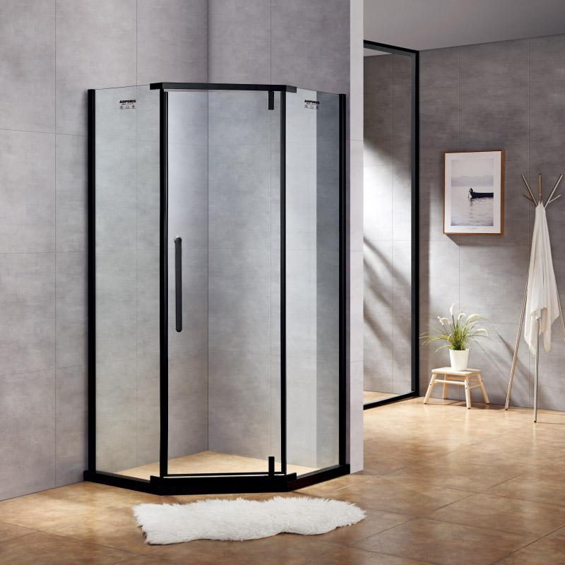 厂家美霖家不锈钢带玻璃含石基不含防爆膜钻石型/淋浴房C029
