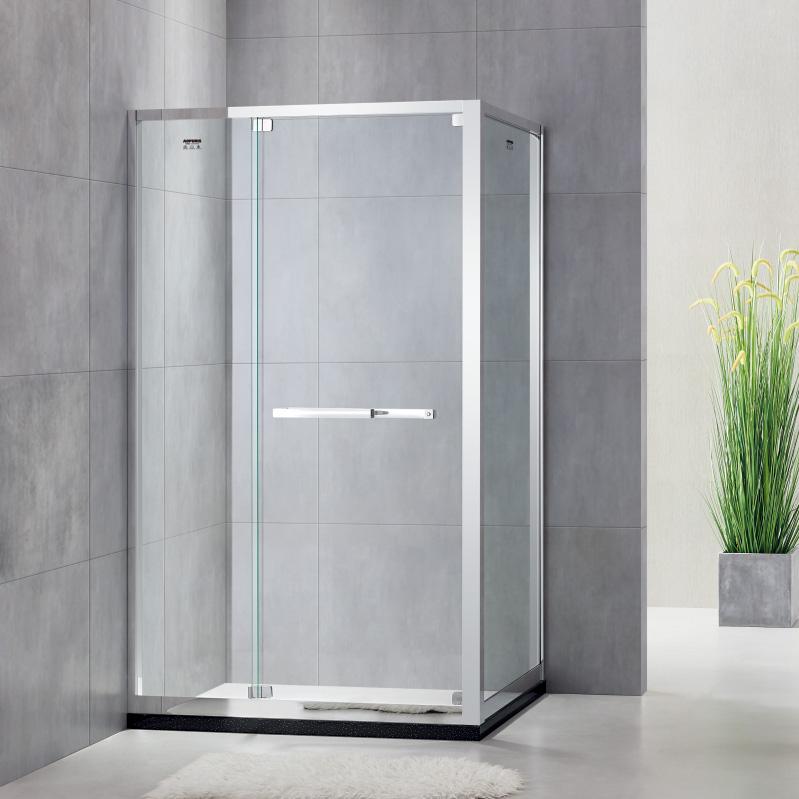 厂家美霖家不锈钢带玻璃不含石基不含防爆膜方型/淋浴房D025