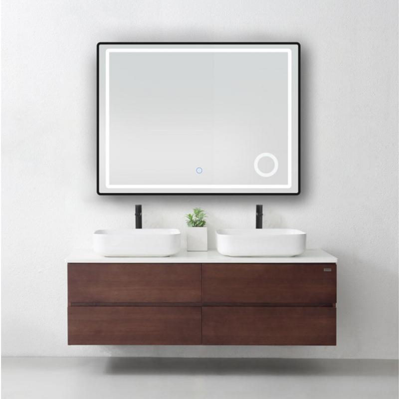 厂家智造圆形外发光智能镜方型40304B图片