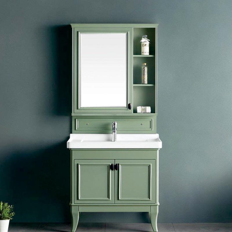 厂家森工坊现代PVC浴室柜/洗手盆/洗漱台/面盆234