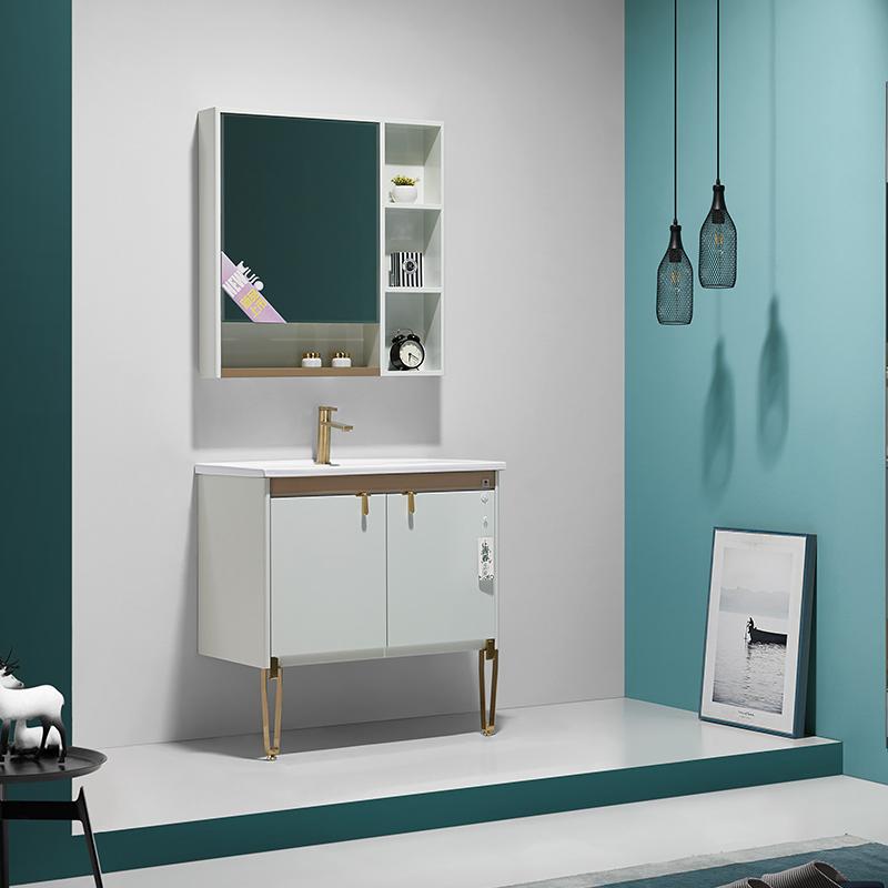 厂家航空级PVC浴室柜/洗手面盆/卫浴柜/卫生间洗漱台19H系列