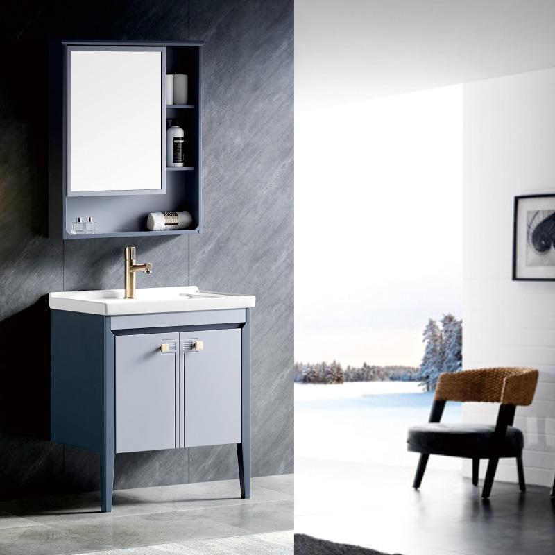 厂家航空级PVC浴室柜/洗手面盆/卫浴柜/卫生间洗漱台19A