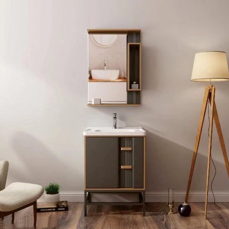 厂家现代PVC浴室柜/洗手面盆/卫浴柜/卫生间洗漱台1806系列