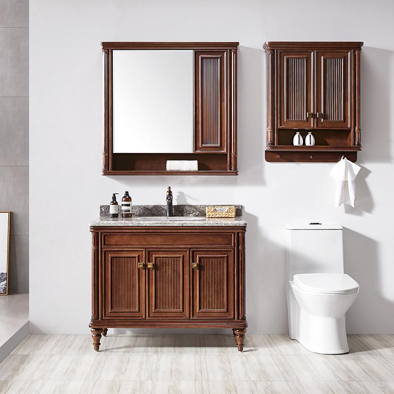 厂家美式实木浴室柜/洗手盆/卫浴柜/卫生间洗漱台8021/7系列