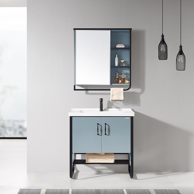 厂家现代PVC浴室柜/洗手面盆/卫浴柜/卫生间洗漱台810系列