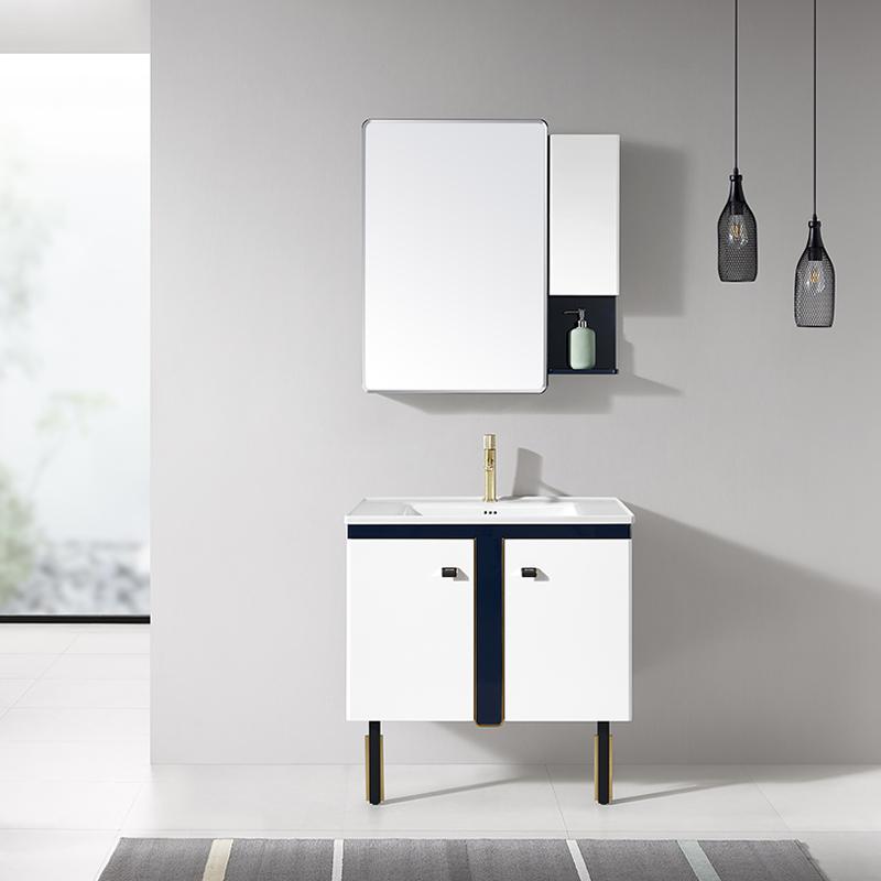 厂家现代PVC浴室柜/洗手面盆/卫浴柜/卫生间洗漱台832系列