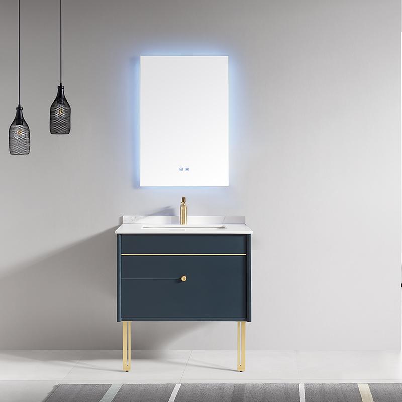 现代实木浴室柜/洗手盆/卫浴柜/卫生洗漱台3301/2/3无边柜